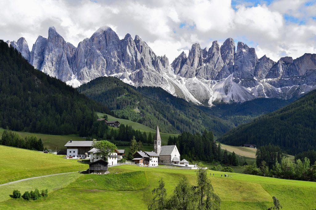 Уникални пейзажи от Европа 9