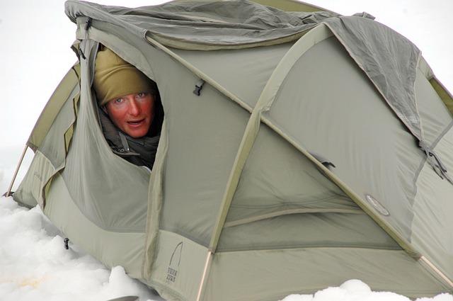 размер на палатката